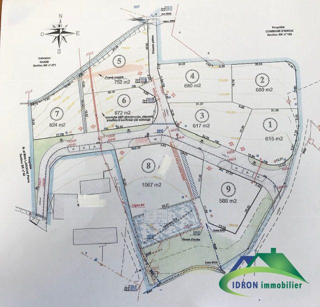 Terrains du constructeur IDRON IMMOBILIER • 624 m² • IDRON