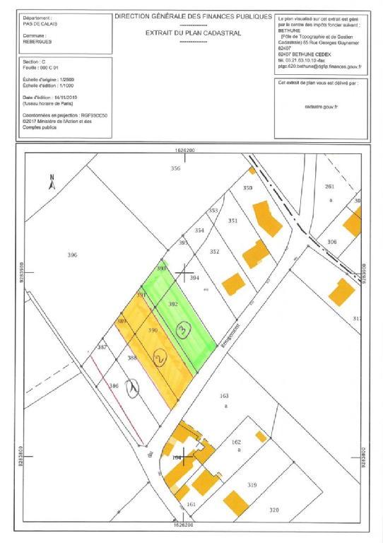 Terrains du constructeur SCP GALLET BROUSSE • 1129 m² • REBERGUES
