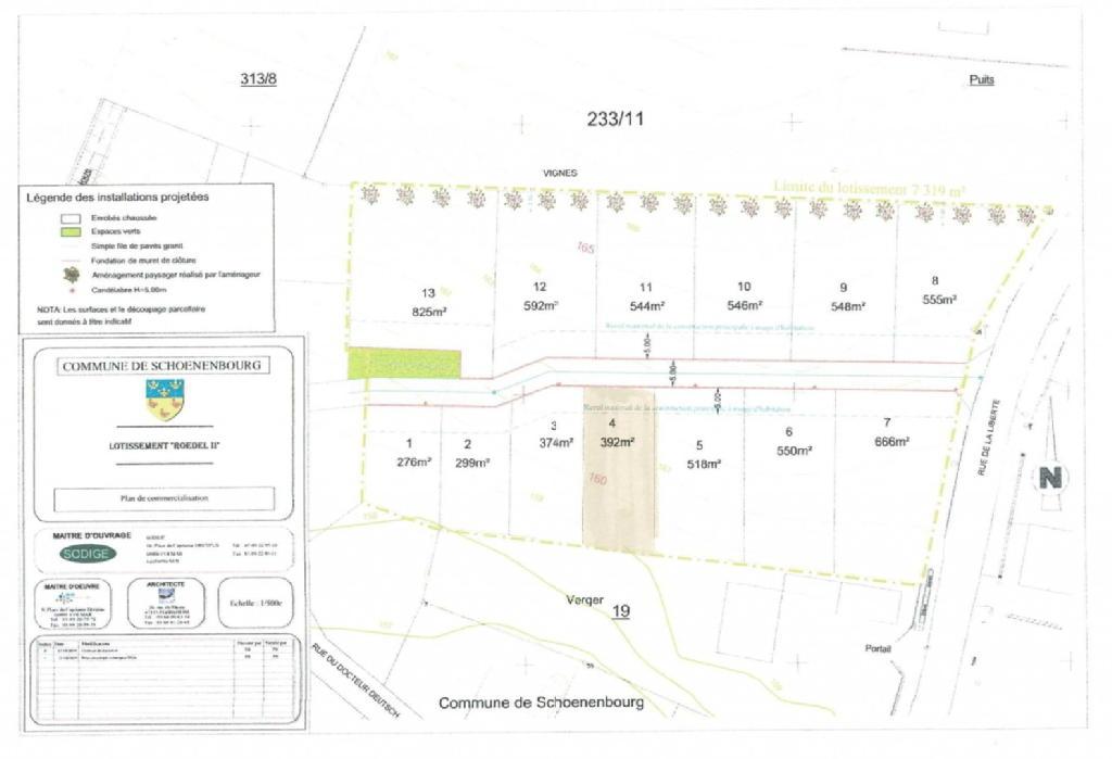 Terrains du constructeur NEO CONCEPT IMMOBILIER • 0 m² • SCHOENENBOURG