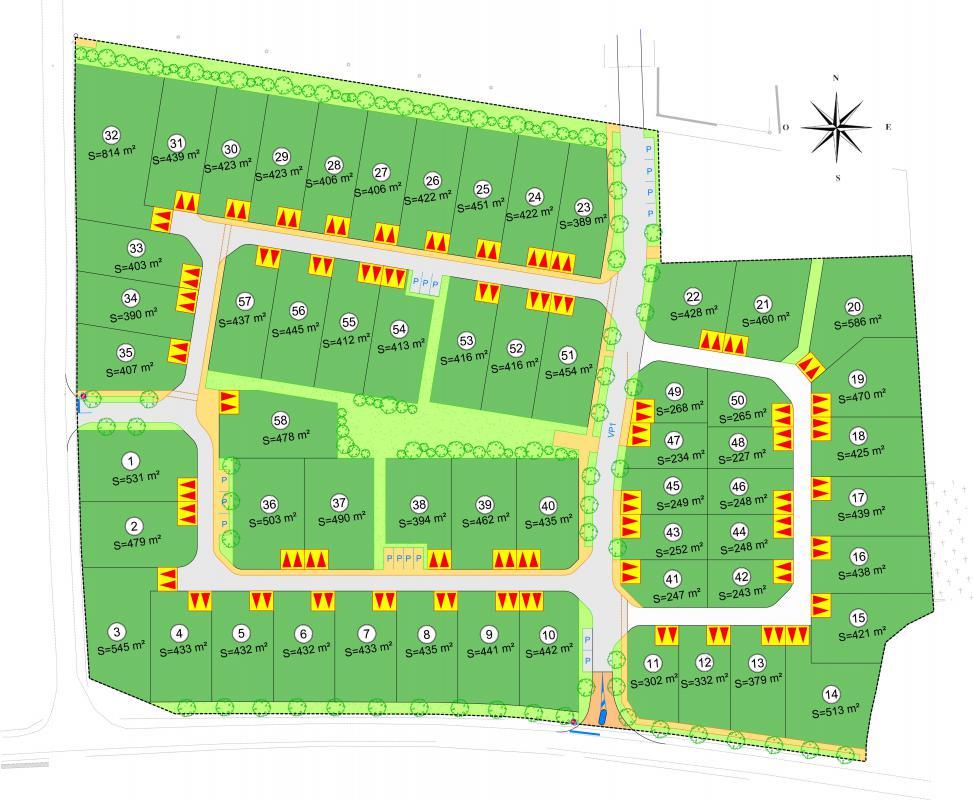 Terrains du constructeur ACANTHE • 406 m² • ANDOUILLE NEUVILLE