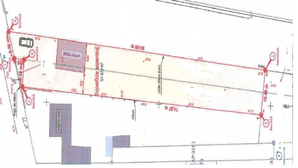 Terrains du constructeur C21 A S M COULOMMERS • 868 m² • BOISSY LE CHATEL
