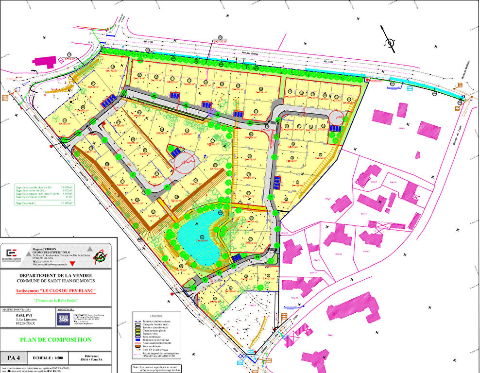Terrains du constructeur LA MOTHE IMMOBILIER • 739 m² • SAINT JEAN DE MONTS