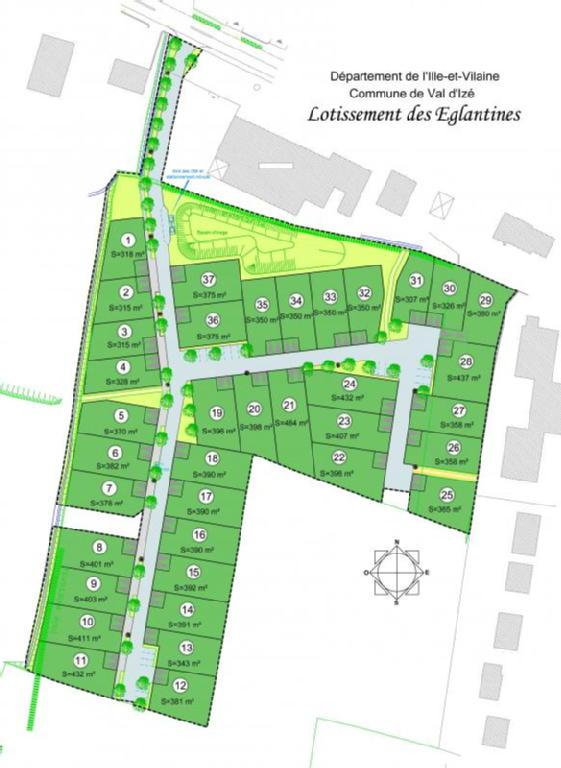 Terrains du constructeur ACANTHE • 350 m² • VAL D'IZE
