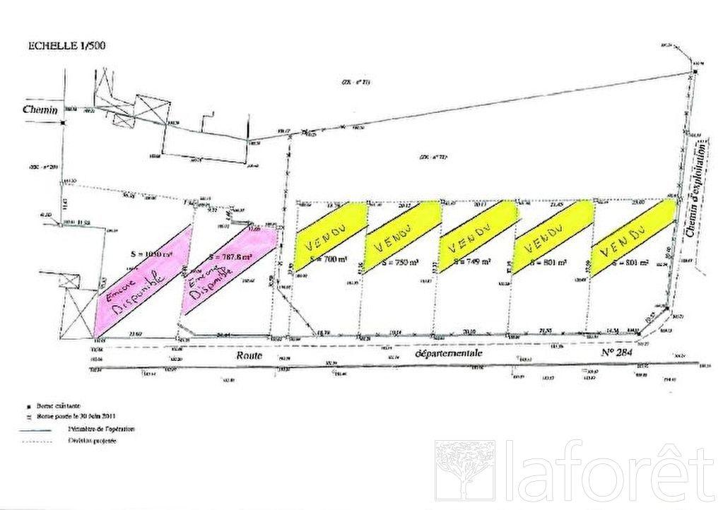 Terrains du constructeur LAFORÊT IMMOBILIER - AGENCE IMMOBILIERE DU NAU • 1050 m² • MAFFRECOURT