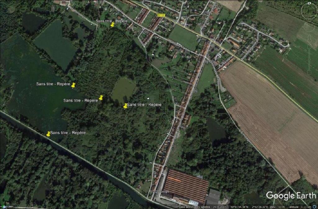 Terrains du constructeur DELATTRE PIPROT BOURRIEZ DELHAYE • 96802 m² • L'ETOILE