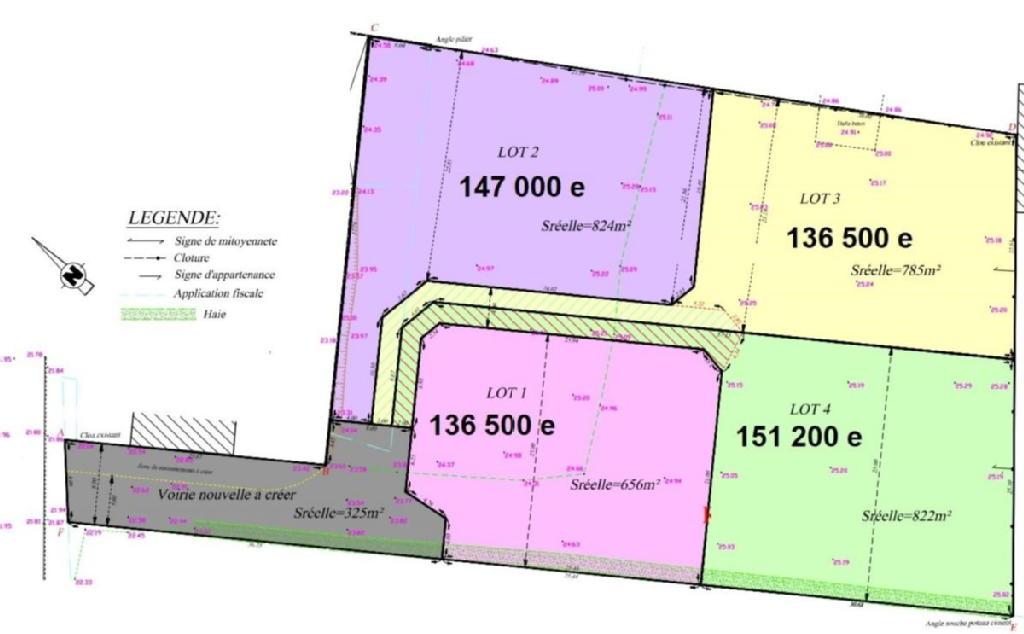 Terrains du constructeur LOGEHOME WAVRIN • 656 m² • ILLIES