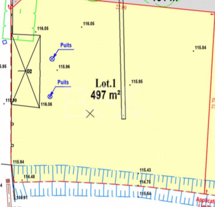 Terrains du constructeur RESEAU BSK IMMOBILIER • 497 m² • SAINT SULPICE