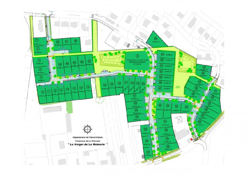 Terrains du constructeur ACANTHE • 484 m² • LA FRESNAIS