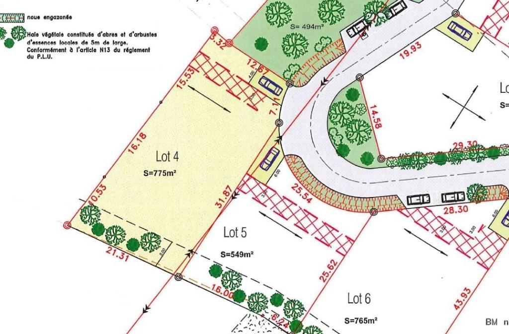 Terrains du constructeur AJP IMMOBILIER SAINTES • 775 m² • SAINTES