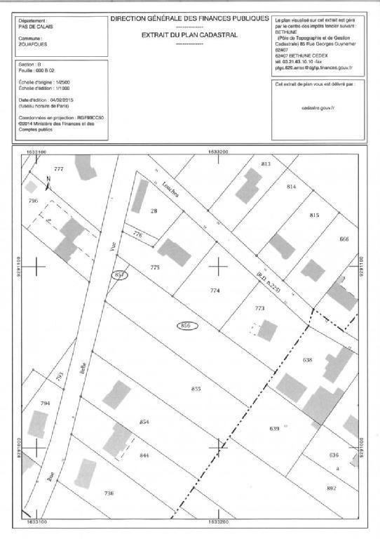 Terrains du constructeur SCP GALLET BROUSSE • 2523 m² • ZOUAFQUES