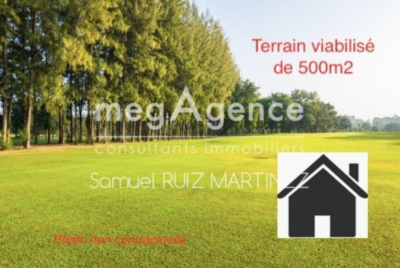 Terrains du constructeur MEGAGENCE • 500 m² • SAINT PAUL DU BOIS