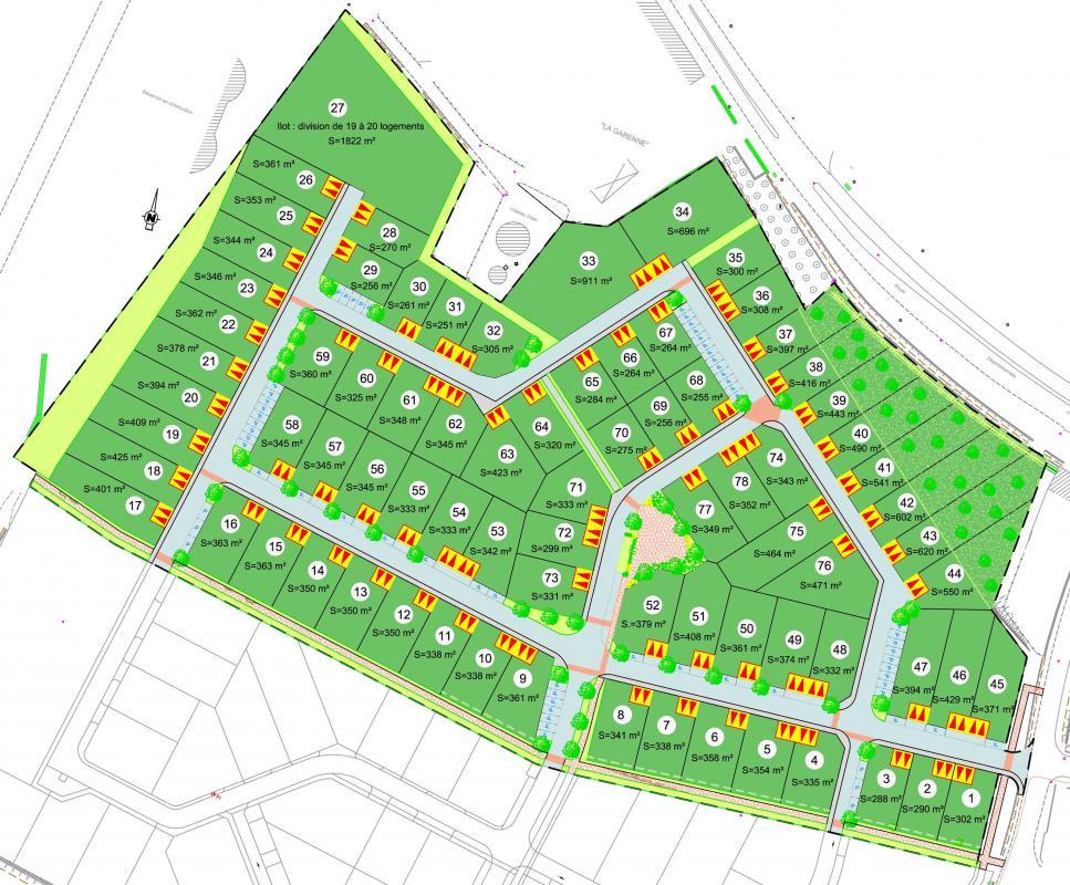 Terrains du constructeur ACANTHE • 416 m² • LECOUSSE