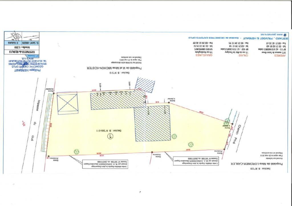Terrains du constructeur SCP GALLET BROUSSE • 1207 m² • CLERQUES