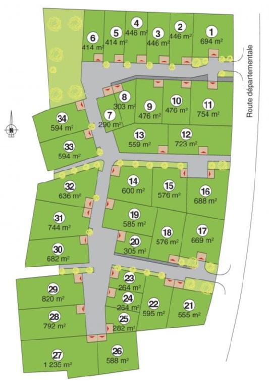 Terrains du constructeur ACANTHE • 555 m² • DOL DE BRETAGNE