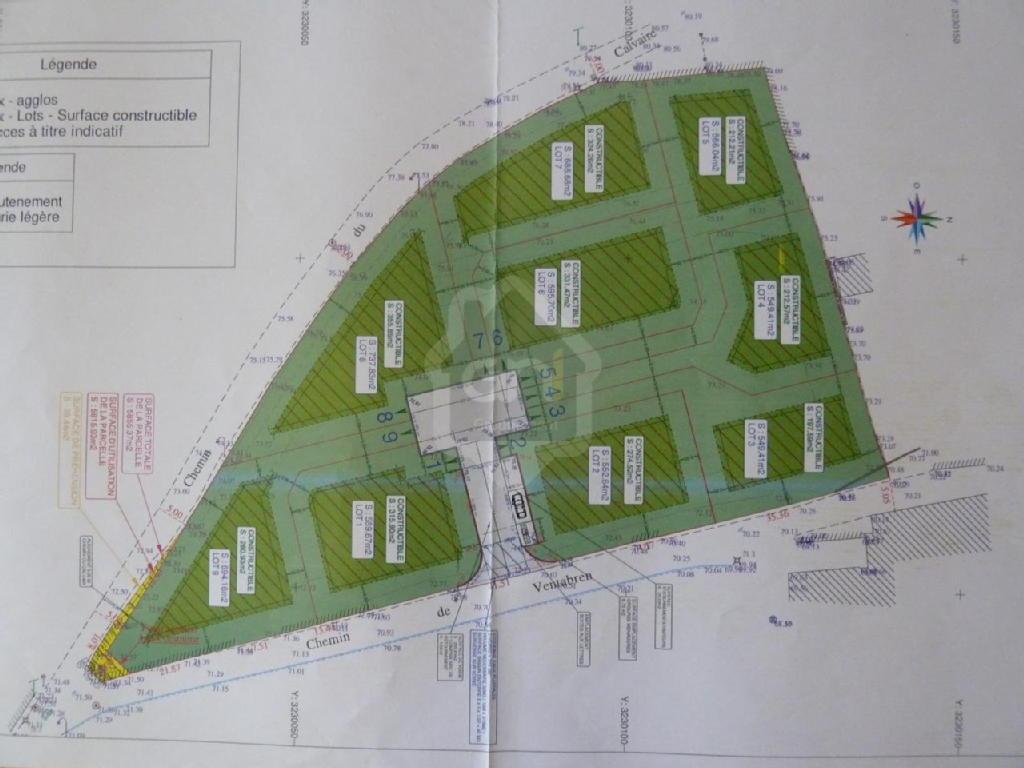 Terrains du constructeur PONT IMMOBILIER • 737 m² • PONT SAINT ESPRIT