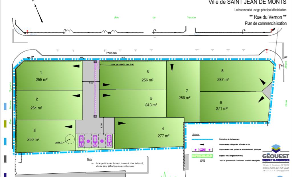 Terrains du constructeur LA MOTHE IMMOBILIER • 255 m² • SAINT JEAN DE MONTS