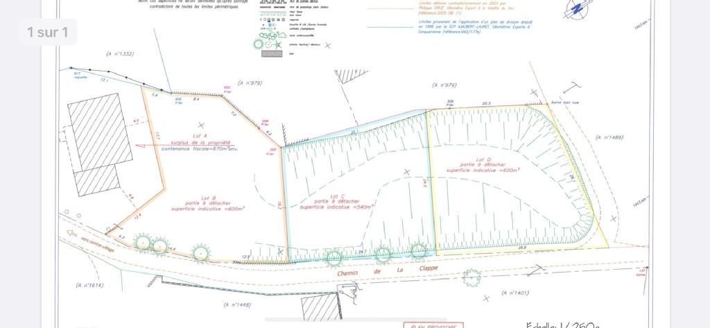 Terrains du constructeur AGENCE IMMOBILIERE LUDO GRISOLLE • 600 m² • SAINTE ANASTASIE SUR ISSOLE