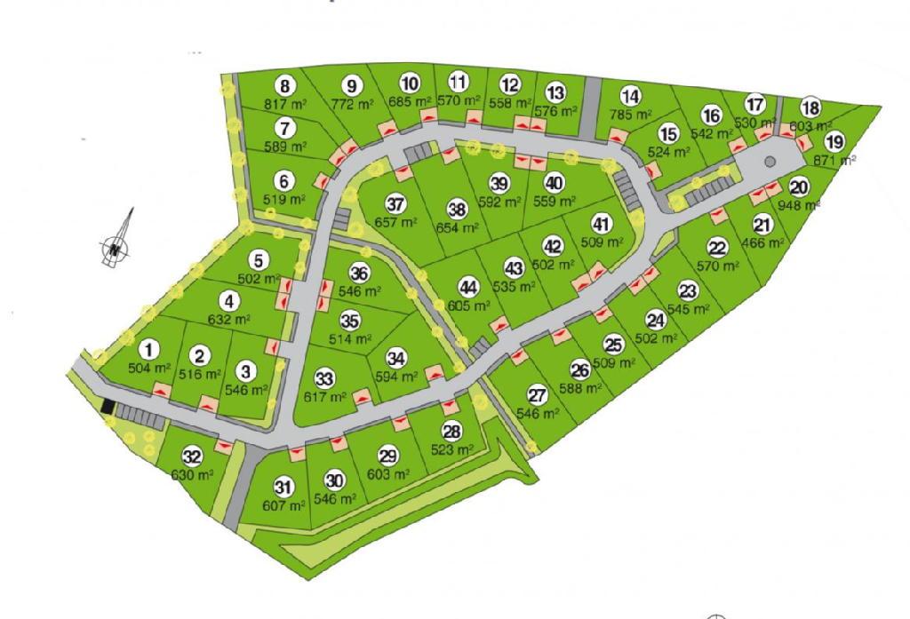 Terrains du constructeur ACANTHE • 785 m² • ROMAGNE
