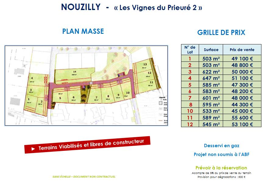 Terrains du constructeur VAL TOURAINE HABITAT • 503 m² • NOUZILLY
