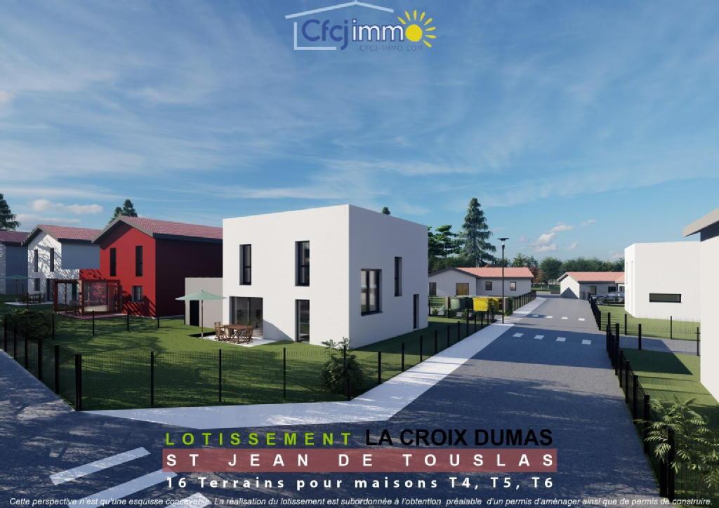 Terrains du constructeur C.F.C.J IMMO • 333 m² • SAINT JEAN DE TOUSLAS