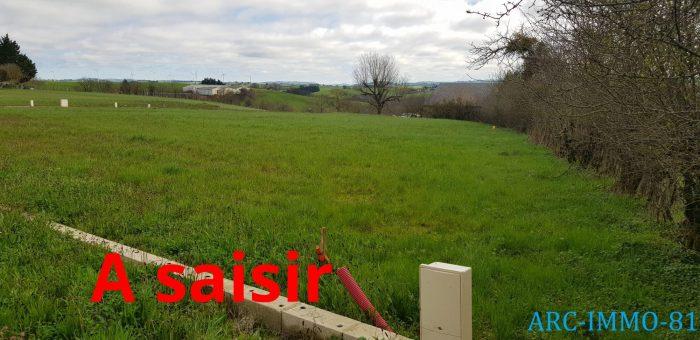 Terrains du constructeur D ARC IMMO 81 • 910 m² • VALENCE D'ALBIGEOIS