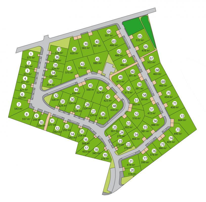 Terrains du constructeur ACANTHE • 516 m² • SAINT MEEN LE GRAND