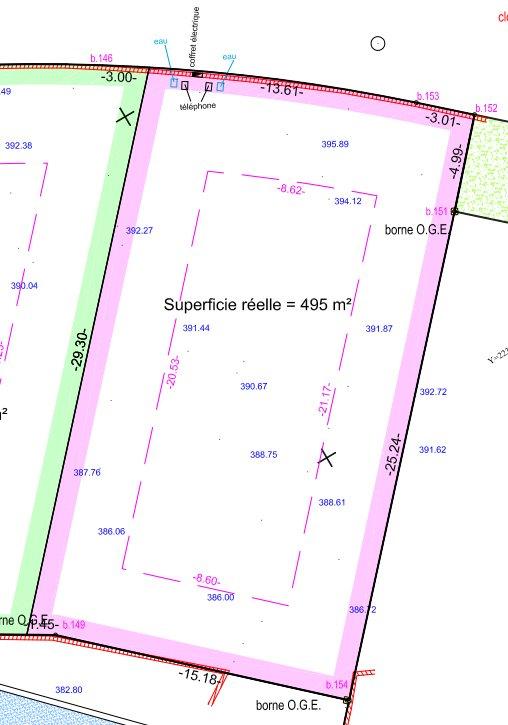 Terrains du constructeur EXPERTIMO • 495 m² • CUGES LES PINS