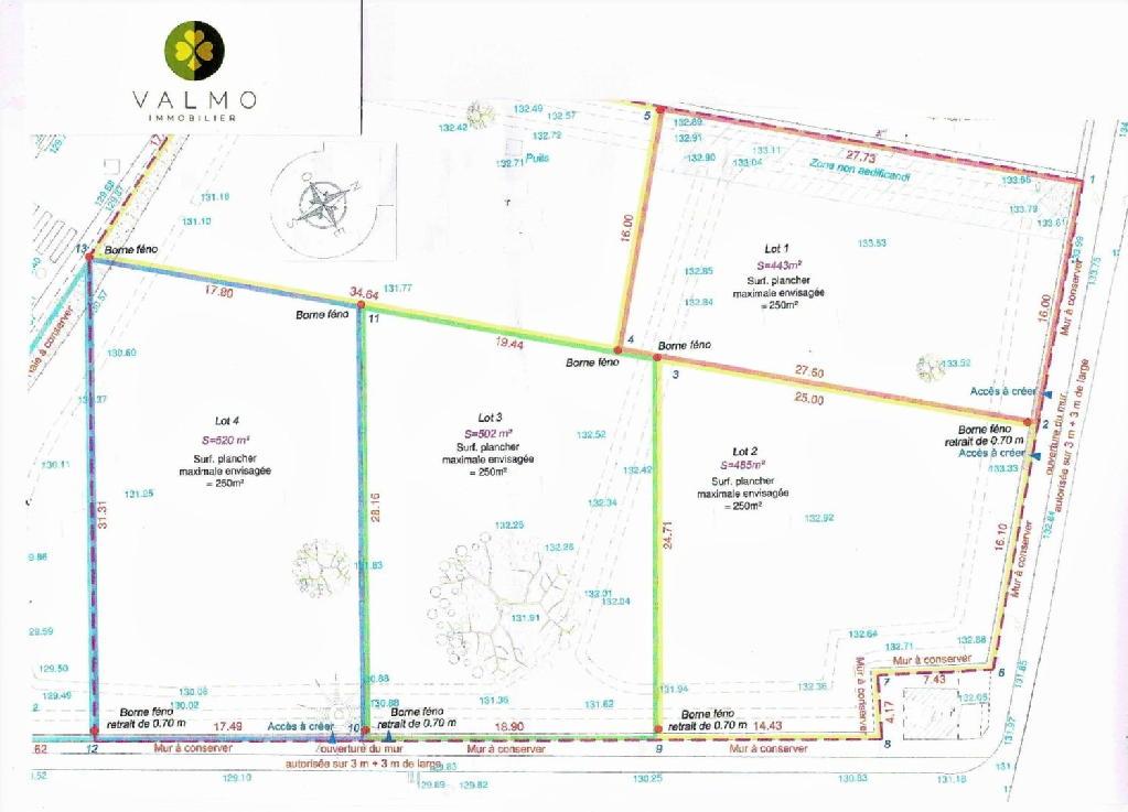 Terrains du constructeur COMPTOIR IMMOBILIER DE FRANCE • 0 m² • THOIRY