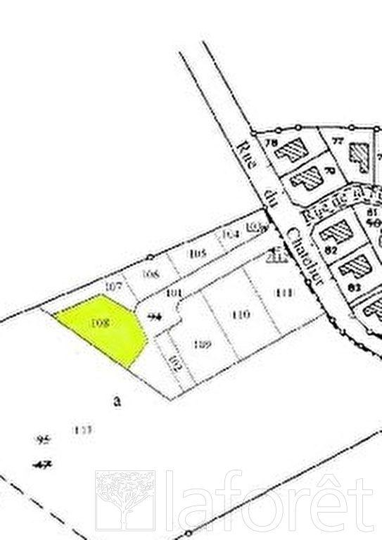 Terrains du constructeur LAFORÊT IMMOBILIER - AGENCE IMMOBILIERE DU NAU • 856 m² • GIVRY EN ARGONNE