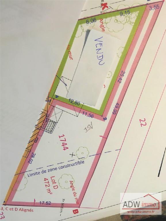 Terrains du constructeur ADW IMMO • 0 m² • MAINCY