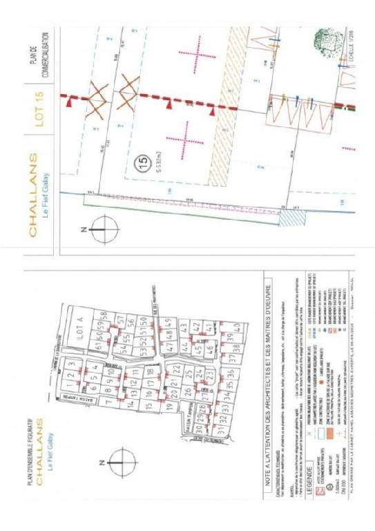 Terrains du constructeur AGENCE ROCHER IMMOBILIER • 531 m² • CHALLANS