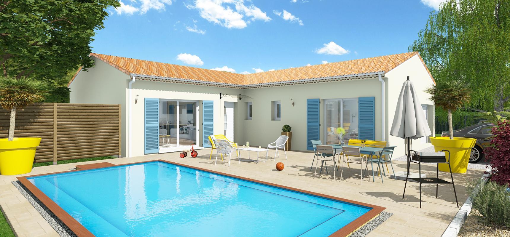 Maisons + Terrains du constructeur LCO CONCEPT • 100 m² • FOURQUEVAUX