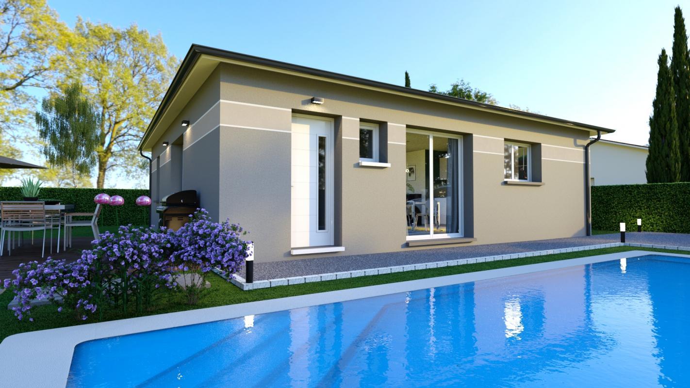 Maisons + Terrains du constructeur LCO CONCEPT • 80 m² • CARBONNE