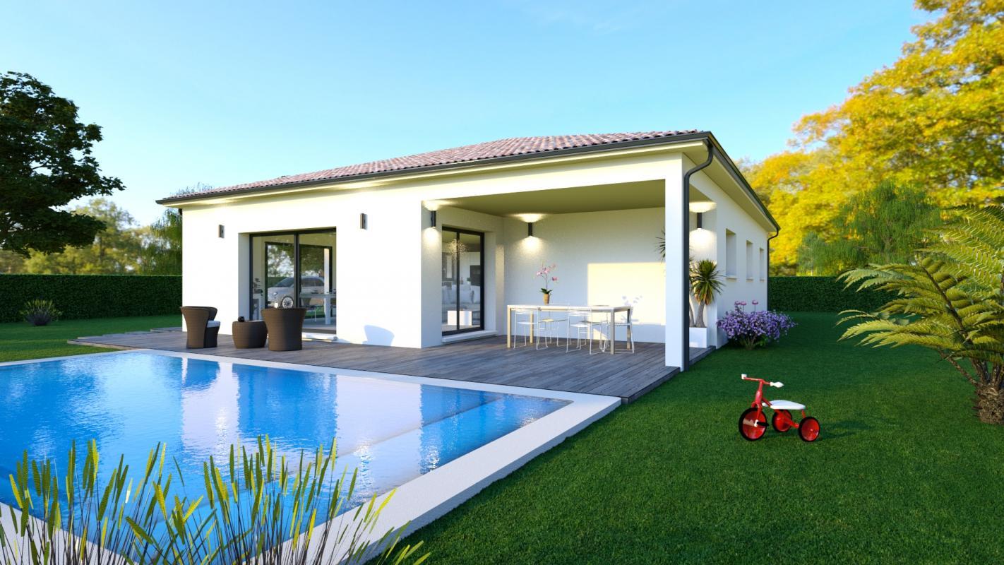 Maisons + Terrains du constructeur LCO CONCEPT • 110 m² • VILLEFRANCHE DE LAURAGAIS
