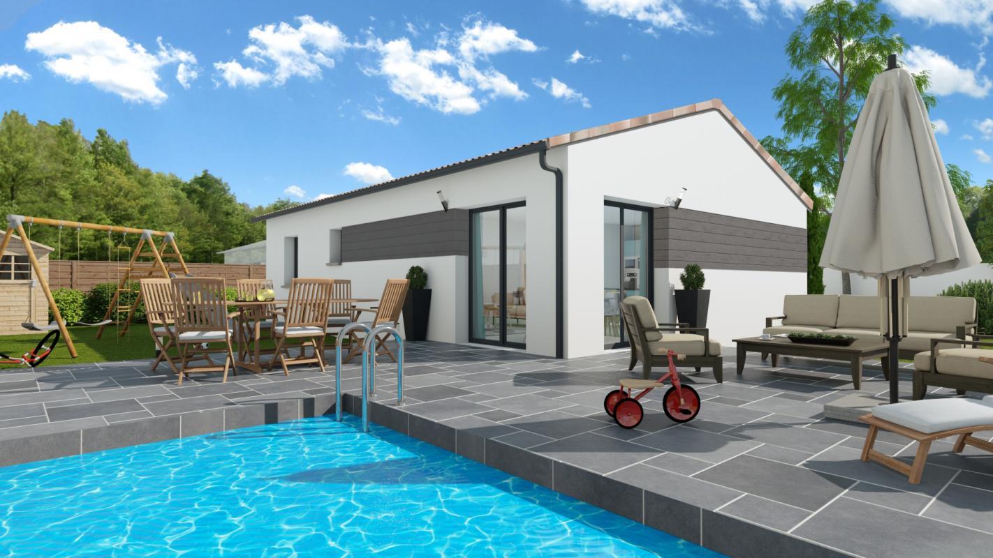 Maisons + Terrains du constructeur LCO CONCEPT • 90 m² • VACQUIERS