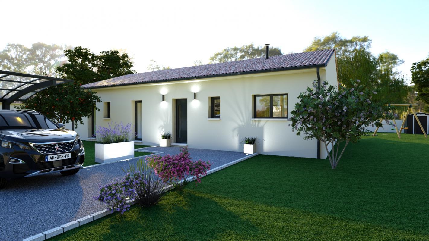 Maisons + Terrains du constructeur LCO CONCEPT • 121 m² • FROUZINS