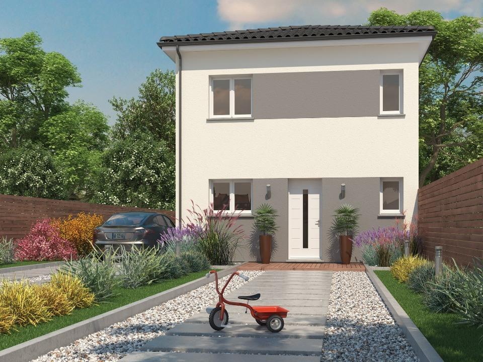 Maisons + Terrains du constructeur Maisons MCA Tresses • 80 m² • BLANQUEFORT