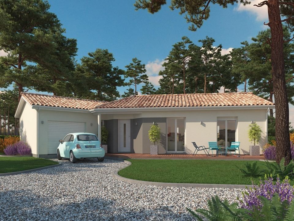 Maisons + Terrains du constructeur Maisons MCA Tresses • 146 m² • LE PIAN MEDOC
