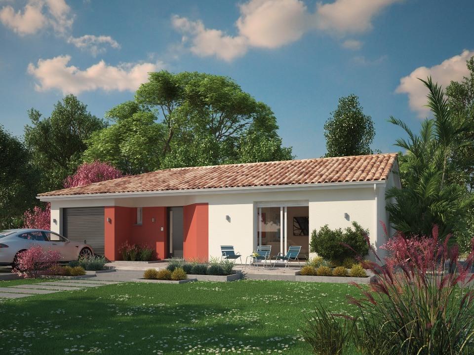 Maisons + Terrains du constructeur Maisons MCA Tresses • 119 m² • LE PIAN MEDOC