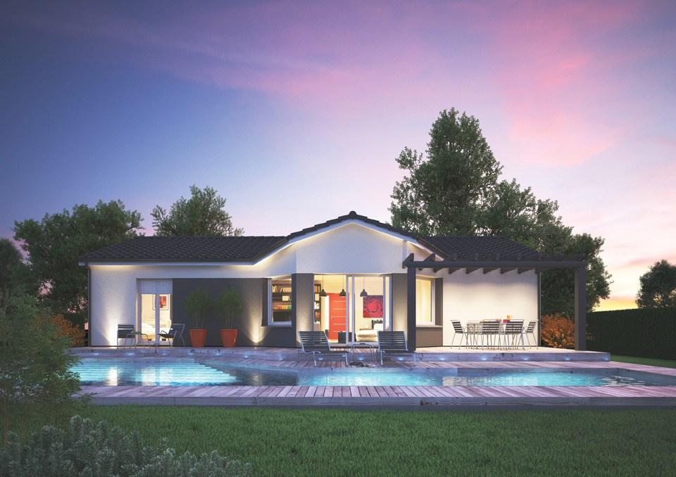 Maisons + Terrains du constructeur Maisons MCA Tresses • 101 m² • LE PIAN MEDOC