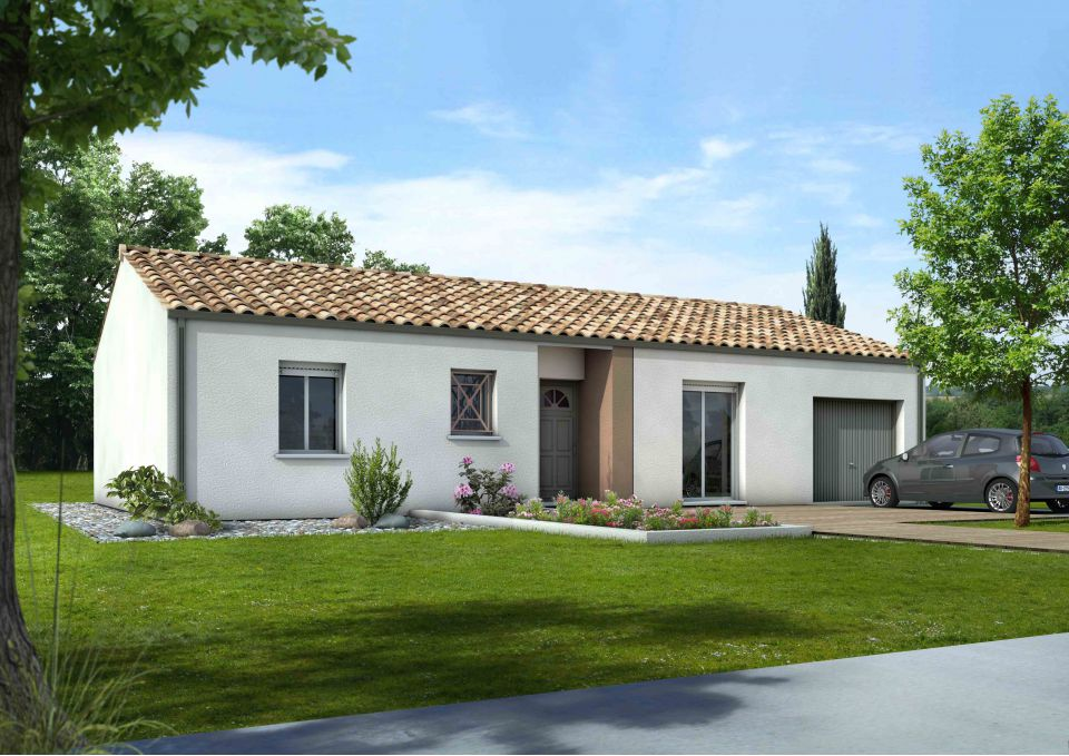 Maisons + Terrains du constructeur Maisons MCA Tresses • 92 m² • CREON