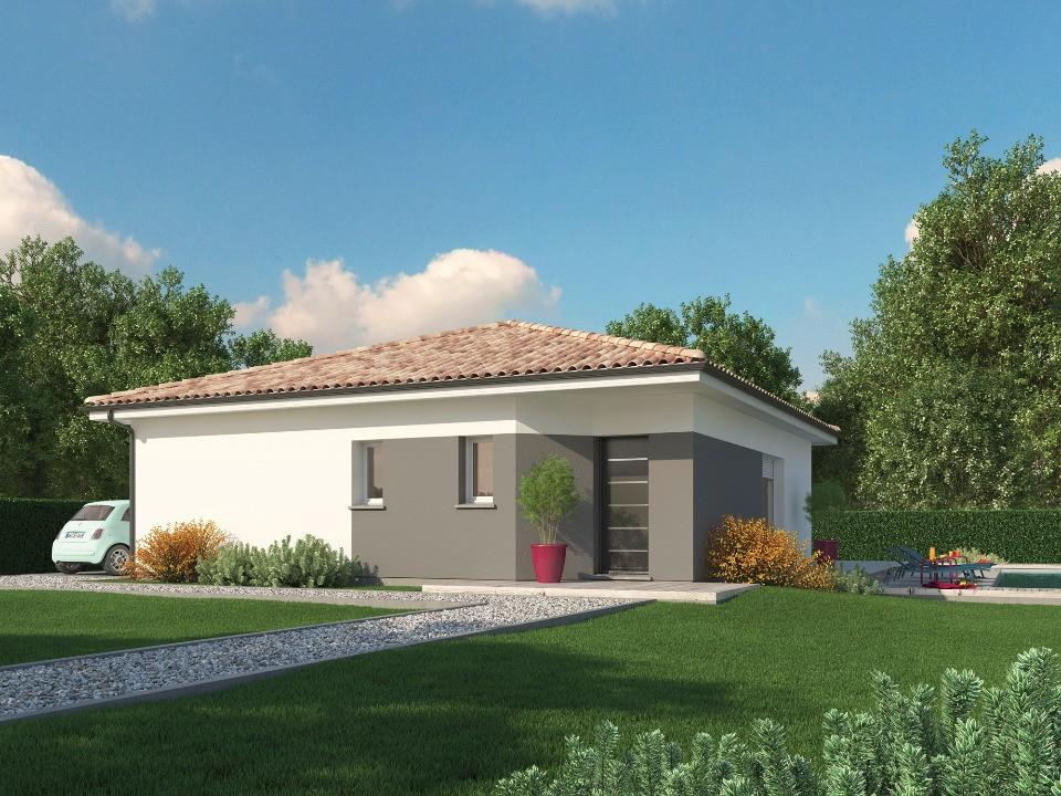 Maisons + Terrains du constructeur Maisons MCA Tresses • 90 m² • LIBOURNE