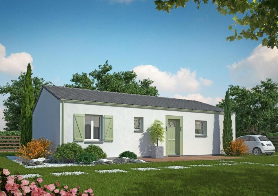 Maisons + Terrains du constructeur Maisons MCA Tresses • 80 m² • ARTIGUES PRES BORDEAUX