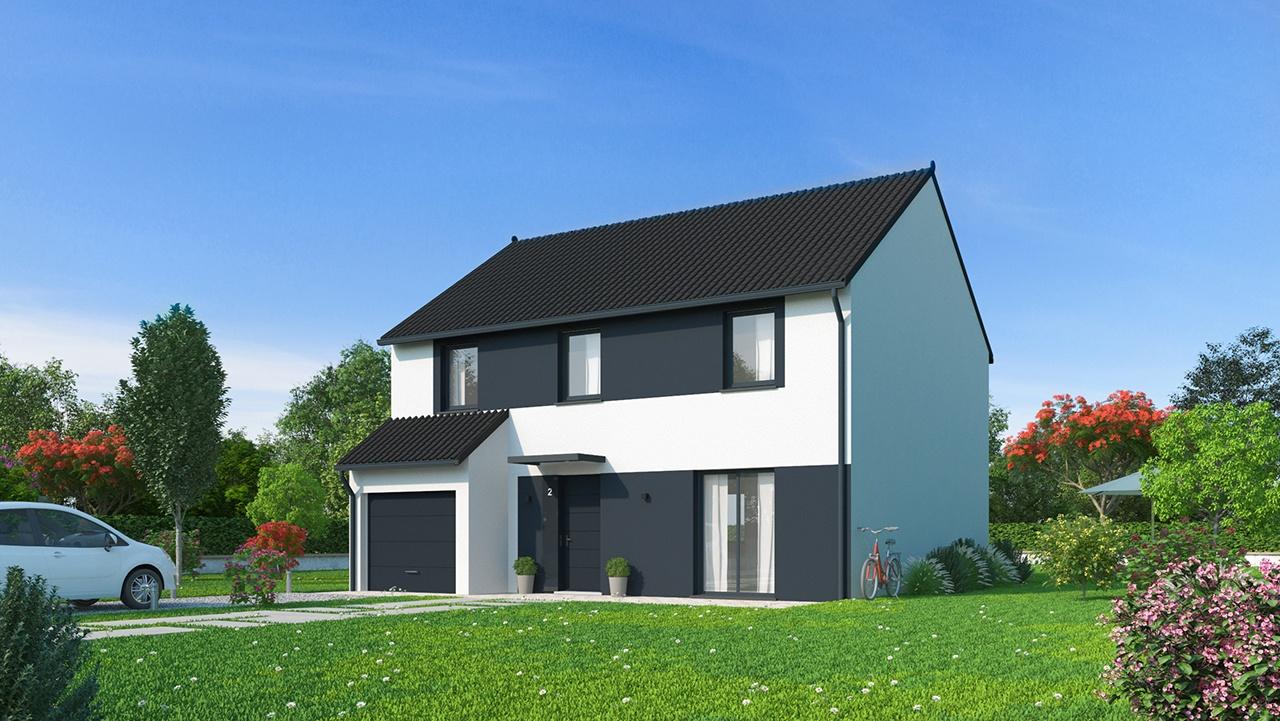 Maisons + Terrains du constructeur Maisons Phénix Metz • 102 m² • DELME