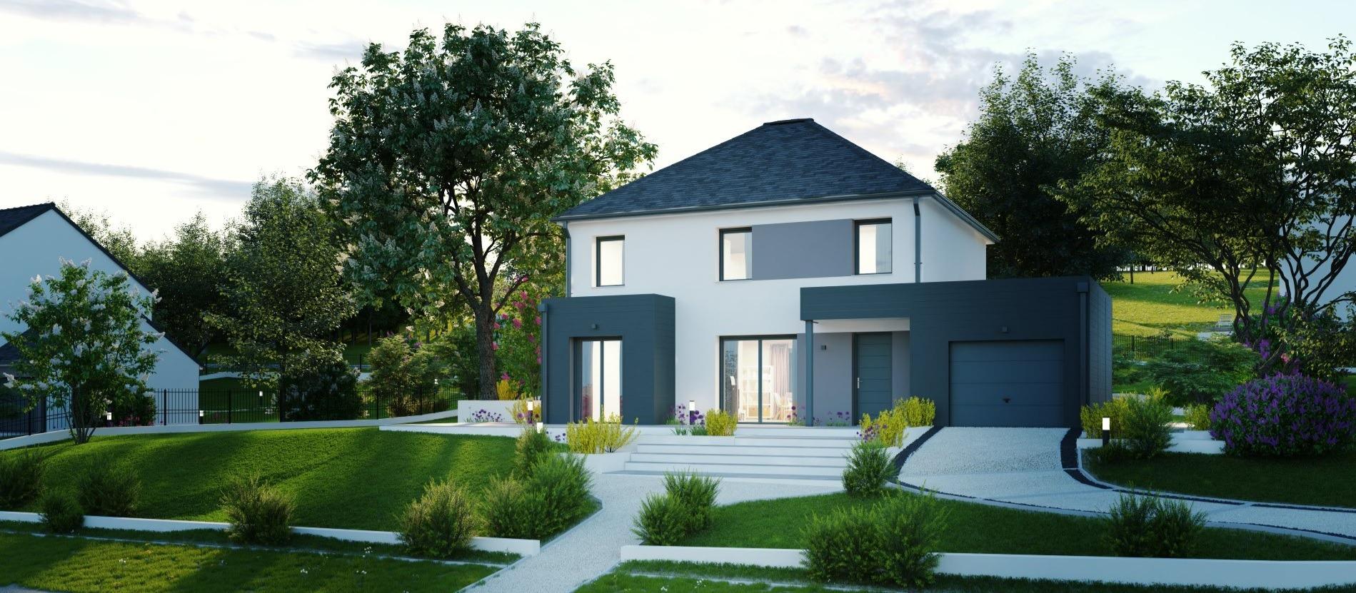 Maisons + Terrains du constructeur Maisons Phénix Metz • 137 m² • CONDE NORTHEN