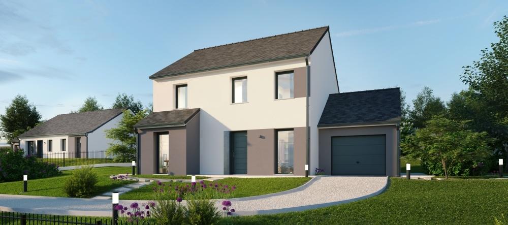Maisons + Terrains du constructeur Maisons Phénix Metz • 137 m² • LORRY MARDIGNY