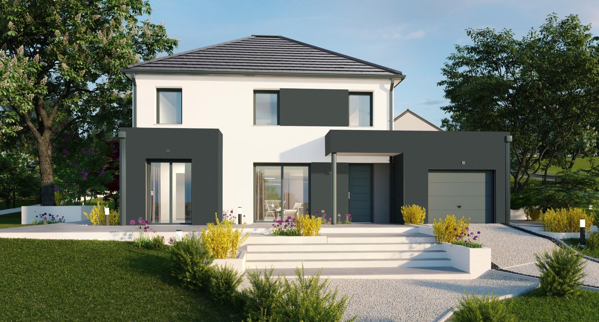 Maisons + Terrains du constructeur Maisons Phénix Metz • 137 m² • CHATEAU SALINS