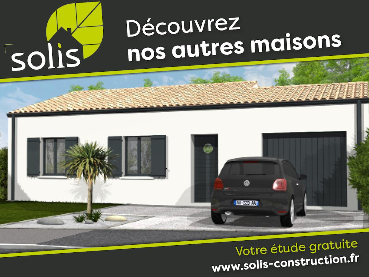 Maisons du constructeur SOLIS CONSTRUCTION - AGENCE DE NIORT • 138 m² • CHAURAY