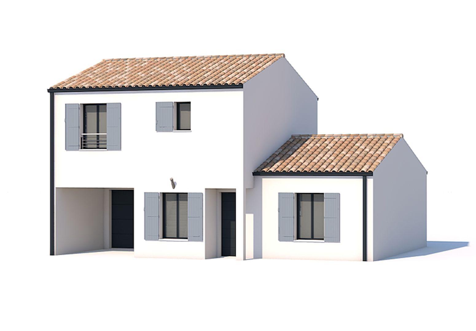 Maisons du constructeur SOLIS CONSTRUCTION - AGENCE DE NIORT • 126 m² • LA CRECHE