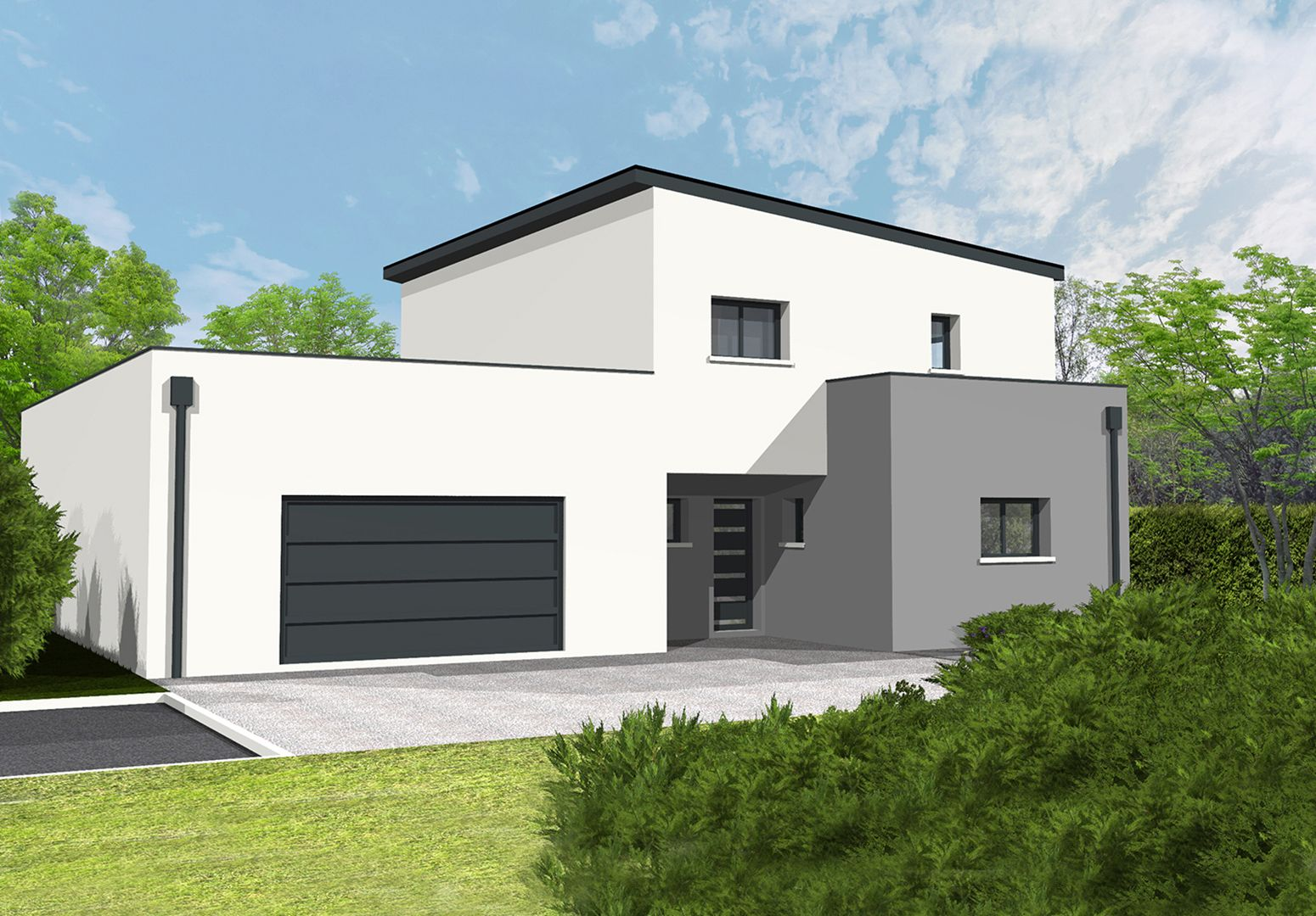 Maisons du constructeur SOLIS CONSTRUCTION - AGENCE DE NIORT • 182 m² • PRAHECQ